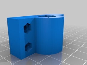 12.7 mm linear bearing block