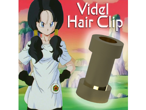 Videl Hair Clip for Cosplay