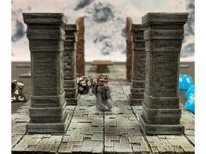 Undead Dwarf Priest (32mm scale)