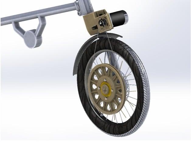 Strida Bicycle Electric Conversion Kit by hobbyman - Thingiverse