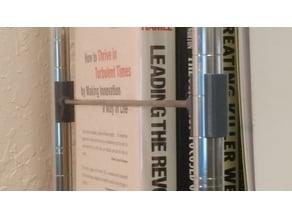 """.75"""" Wire Shelf Bookend"""