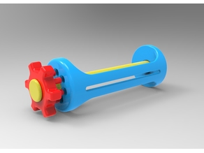 peg and hole toothpaste squeezer