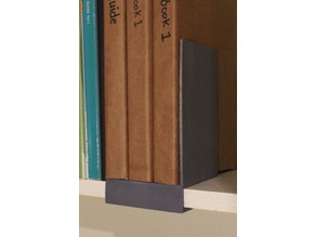 Bookend with shelf hook