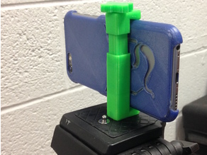 Adjustable Cell Phone Tripod Mount
