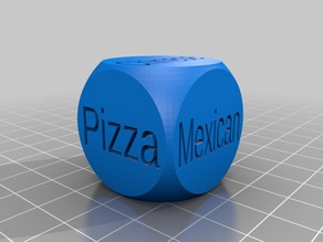 Food dice remix