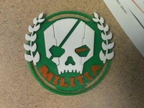 Titanfall Militia Logo