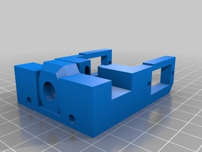OpenBeam 1.4 X Block for 6mm tube extended BedLeveling 3