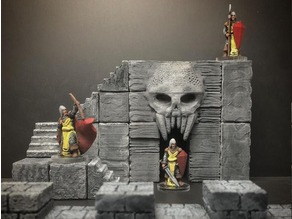 ScatterBlocks: Skull Gate (28mm/Heroic scale)