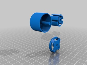 Prototype_Brushless outrunner motor