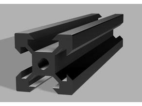 aluprofile 20x20x110mm tronxy x3