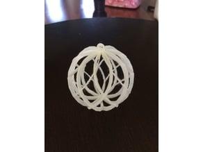 Spiral Christmas Ornament
