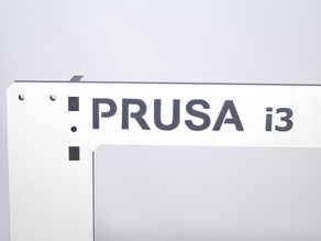 Prusa i3 Laser Cut Frame and Braces