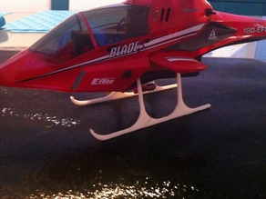 Landing skids for Blade CX2 helicopter