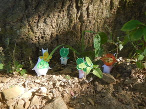 Koroks with textured faces
