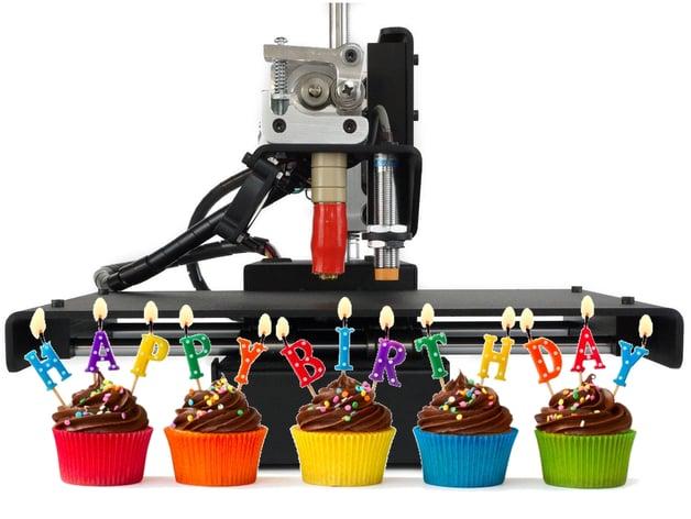 Happy Birthday 3D Printer Music By KeeleyTechLab
