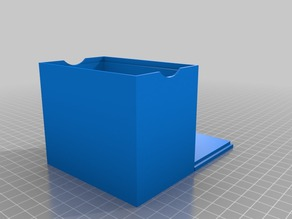My Customized card box with recycle symbol lid