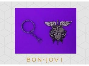 Keychain Bon Jovi