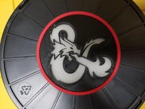 D&D Logo Coaster
