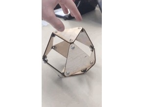colapsing octohedron