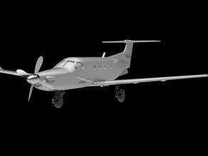 Pilatus PC-12 Airplane