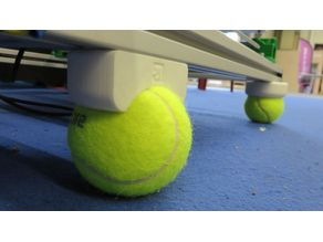 Tennis Ball vibration Dampener for 2020 extrusion profiles