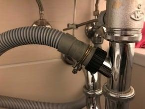 Anschluss Abwasser Waschmaschine
