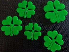4 Leaf Clover Pendant/Earrings