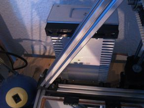 LED Power Supply Mounting Brackets for MendelMax