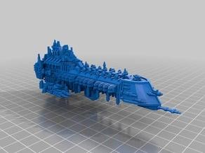 Battlefleet Gothic Imperial Nemesis Class Battleship