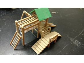 H0 playground 1/87 scale