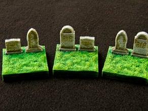 Graveyard Grave Tiles - OpenForge Compatible