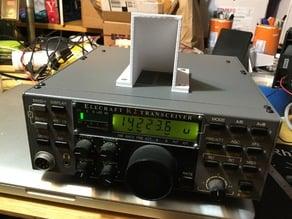 Sound Deflector for Elecraft K2