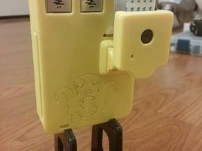 Octopi WiFi Camera Case for Raspberry Pi 2 Model B (revised)