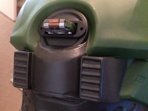 Halo Master Chief Helmet - Cortana A.I. Chip Receiver Port