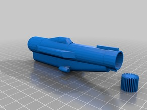 Cyclops Submarine Low-Poly
