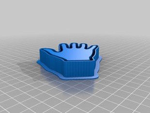 Hand Cookie Cutter 2