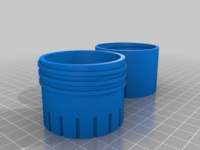 Filament Dryer - cylinder for silicate pearls