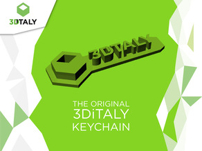 3DiTALY keychain