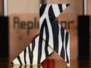 Zebra Paper Bird
