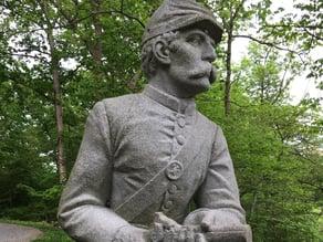 2nd Mass. Sharpshooters Monument - Gettysburg, Pennsylvania