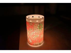 Mathematical Art (Fractal Art): Moore Curve Lamp