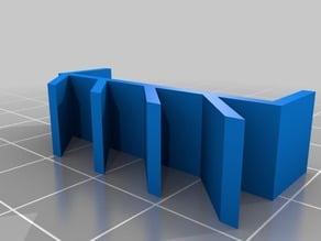 34mm IKEA LINNMON table edge hook