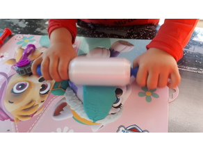 Play doh plastiline roller with bearings