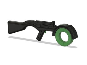 Saga Rifle Comic