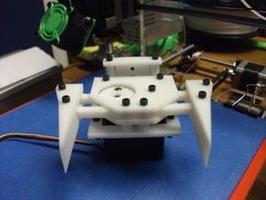 Robo Gripper Single Servo Design