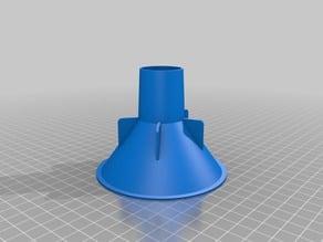 Dishwasher funnel