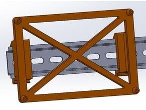 SKR Pro 1.1 DIN rail mount