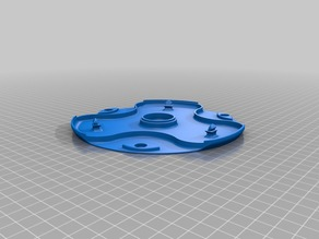 Blade Disc with Dirt Cover for Yardforce Robotic Mower
