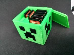 Minecraft Creeper Nintendo Switch Game Cartridge/Micro SD Card Holder