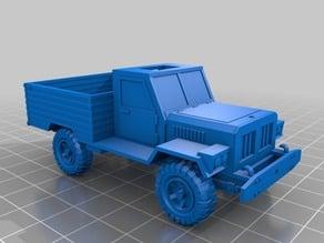 28mm pickup model